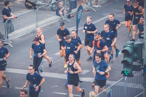 Mehr als 6.000 Läufer gehen in der Lebkuchenstadt auf die Strecke.