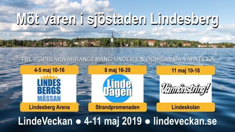 LindeVeckan - en gemensam marknadsföring av sjöstaden Lindesberg