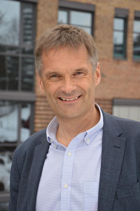 Abraham Foss, adm. dir. i Telia Norge