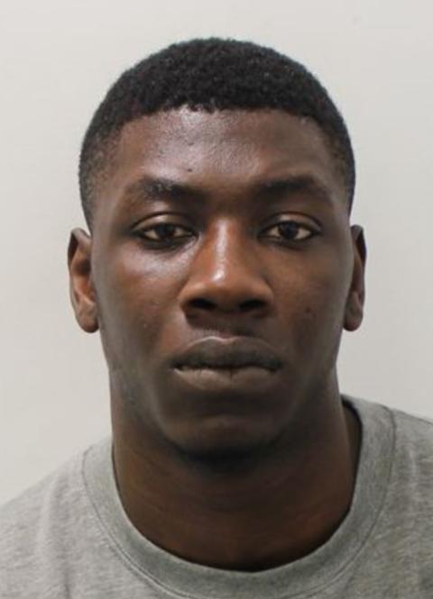 Florent Okende custody image