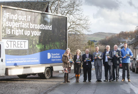 Digital Scotland Superfast Broadband celebrates latest fibre broadband availability across Scotland