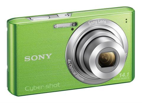 Cyber-shot DSC-W610 von Sony_Gruen_02