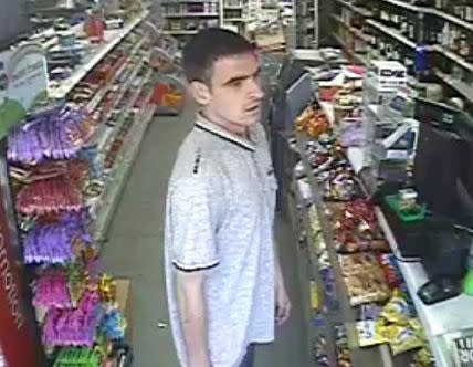 CCTV image of a man officers would like to speak to in relation to a theft in Pitstone