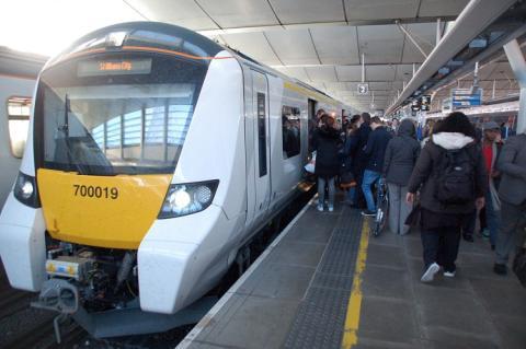 New Thameslink train transforms passenger journeys on suburban route