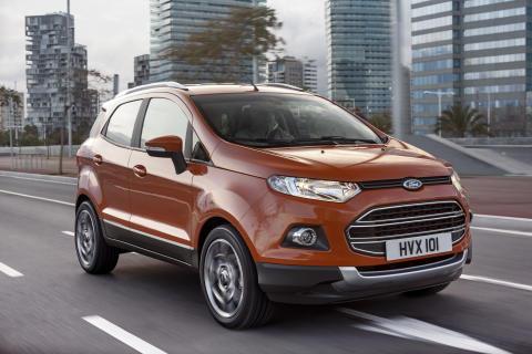 Ford lanserar hela Tourneo-serien och den nya SUV:en EcoSport i Genève – plus mer information om fortsatt utbyggnad av modellprogrammet