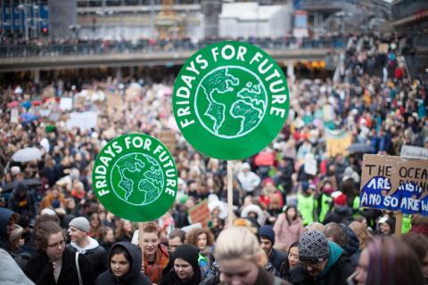 Globala klimatstrejker 20 och 27 september