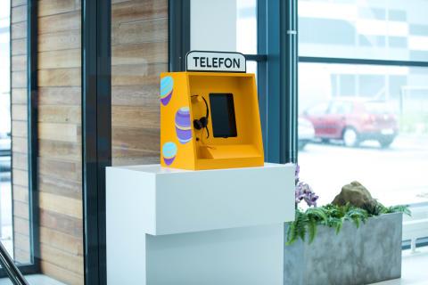 Telias telefonkiosk återuppstår i ny version till isolerade äldre