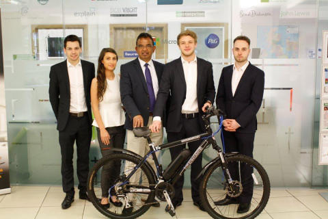 Student help sparks growth for electric bike business