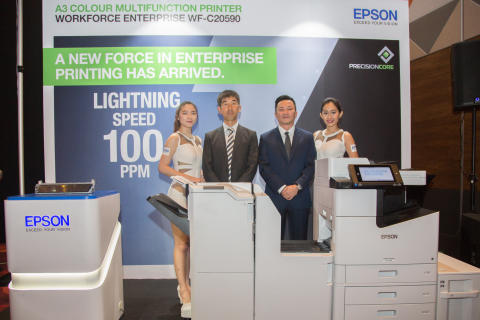 Epson Malaysia Launches New Breakthrough Technologies in Enterprise Printing Solutions to Drive Business Growth