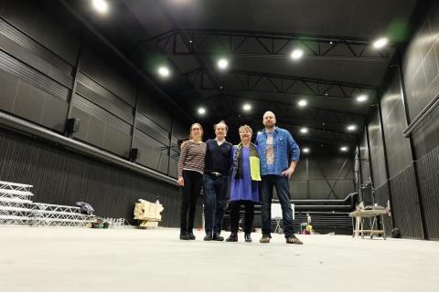 Alone in Space – första filmen som spelas in i Studio Nord