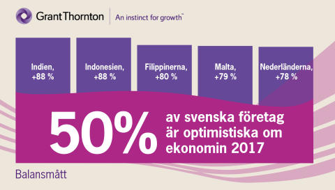 Global undersökning: Företagsledare tror på 2017