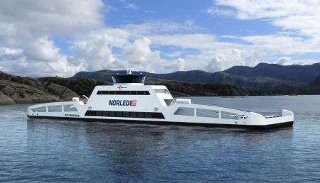 Automated mooring combines with shore power: a world first