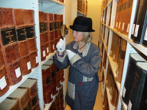 Bli en arkivdetektiv på höstlovet