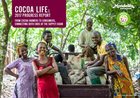 Mondelēz International Reports Rapid Growth of Cocoa Life Sustainable Sourcing Program