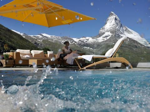 Sommer unterm Matterhorn: Riffelalp Resort 2222m, Zermatt