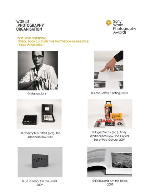 Steidl Press Image Sheet