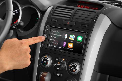 Nyd musikken på farten med Sonys nye DAB in-car receiver