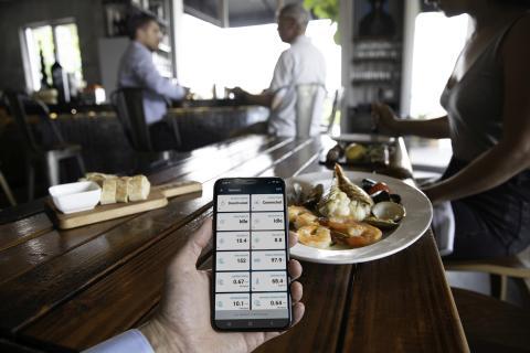 OnDeck Lifestyle Restaurant Kontrolle der Sensoren