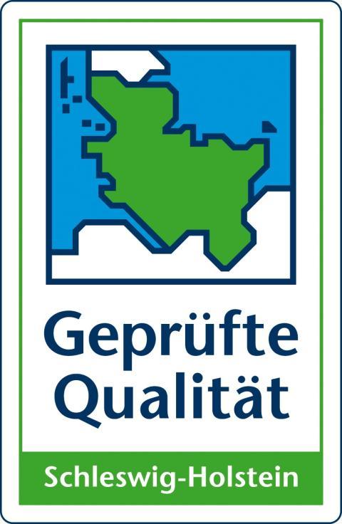 """Gütezeichen """"Geprüfte Qualität Schleswig-Holstein"""""""