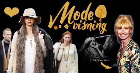 Kungsmässans Modevisning lördag 17 september