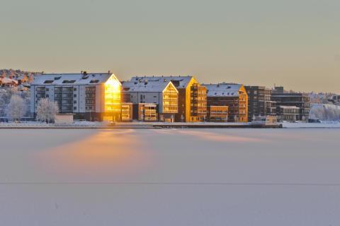 Antalet gästnätter i Östersund ökade under 2019