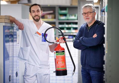 Region Östergötland först i Sverige med krav på litiumsläckare