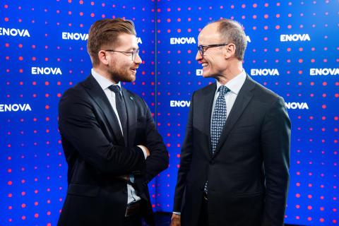 Sveinung Rotevatn og Nils Kristian Nakstad