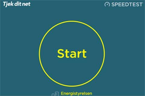 Mål din internethastighed på Tjekditnet.dk