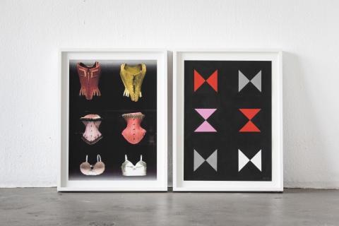 Dubbelt seende: Anders Wenngren förenar måleri och fotografi i sitt utforskande av former på Galleri Glas Extended