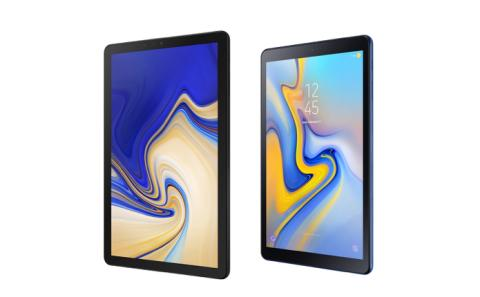 Samsung lancerer to nye tablets for hele familien – Galaxy Tab S4 og Galaxy Tab A 10.5