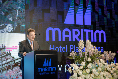 Opening speech: Peter Wennel, Chief Operating Officer of HMS Hotel Management Services International GmbH.