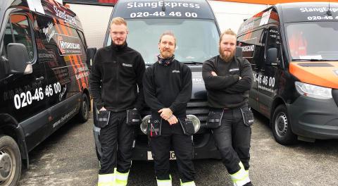Hydroscands SlangExpress växer i Malmö