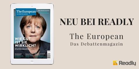 WEIMER MEDIA GROUP bringt The European zu Readly