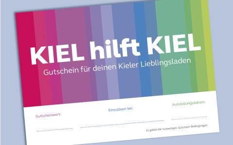 Kiel hilft Kiel Gutschein für den Lieblingsladen