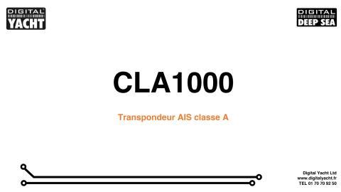 Offre promotionnelle CLA1000 - Transpondeur AIS classe A