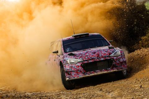 Nye Hyundai i20 WRC