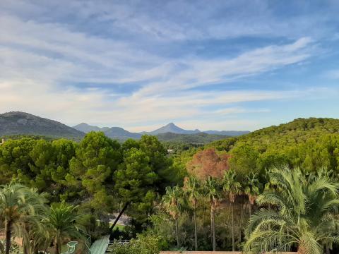 006 allsun Bella Paguera Panoramablick Bergseite