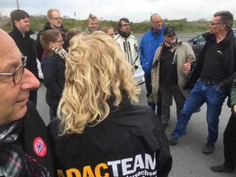 Trink-Fahr-Versuch von ADAC und Bund gegen Alkohol und Drogen im Straßenverkehr (BADS)
