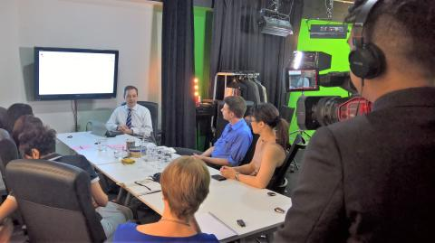 Communications Directors get street smart and go live in hands-on webcasting workshop