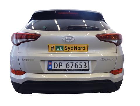 Supertest av nye Hyundai Tucson 9. – 12. august
