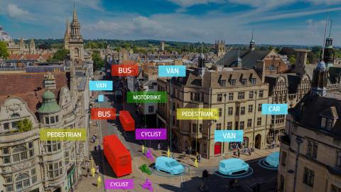 Ford med nytt system for å forutse trafikkulykker