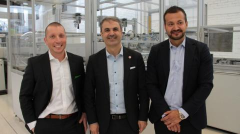 Visit from Swedish Minister of Energy