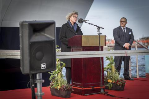 Anne H. Steffensen, CEO Danmarks Rederiforening
