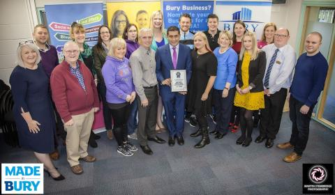 Funding support for Bury's new start-up businesses