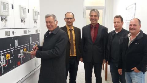 Der offizielle Start für die neue Schaltstation in Neuötting.