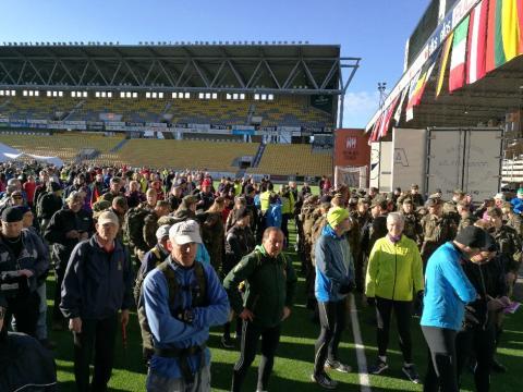 Internationell vandringskongress till Borås