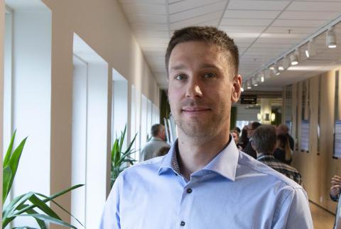 Johan Liljebäck, Överkalix, ny ledamot i Norrmejeriers styrelse