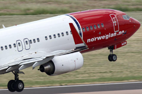 Sterk passasjervekst for Norwegian i april