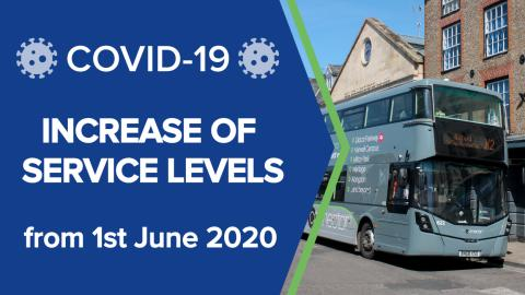 Increase of service levels
