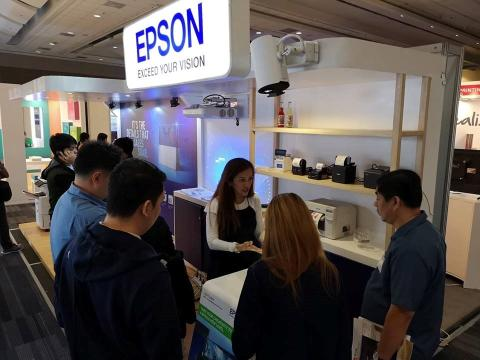 Epson exhibits its latest tech in Stores Asia Expo 2018